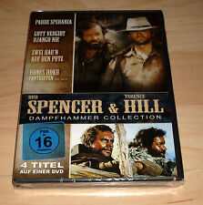 DVD Bud Spencer & Terence Hill Dampfhammer Collection - 4 Titel: Zwei Hau'n...