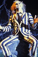 Michael Keaton classic in striped suit Beetle Juice 11x17 Mini Poster