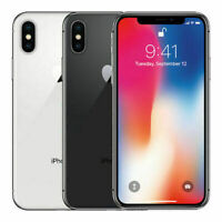 Apple iPhone X 64GB 256GB Verizon + GSM Unlocked T-Mobile AT&T 4G LTE All Colors