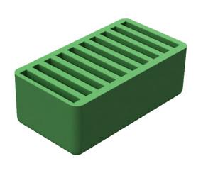 10 SD Card Holder Green