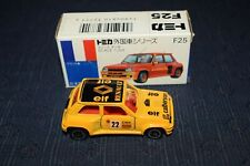 Tomica F36  Renault 5 Turbo Yellow Rally Monte Carlo 1/58 scale made in Japan