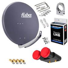 Fuba DAA850A Sat Antenna Megasat Monoblock Twin LNB Diavolo Astra Hotbird 3D HD
