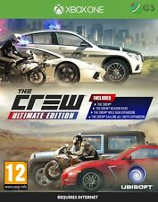 The Crew Ultimate Edition Xbox One * NEW SEALED PAL *
