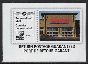 Canada 2021 Admail stamp: Costco - Personalized Mail -dw69t