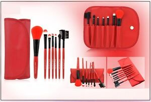 PINCEAUX TROUSSE MAQUILLAGE MAKE UP BRUSHES TRUCCO SPAZZOLE MAQUILLAJE CEPILLOS