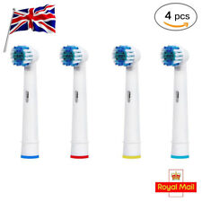 4 Oral 3d White Compatible Electric Toothbrush Replacement Brush Heads UK B