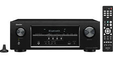 NEW!! Denon AVR-S530BT 5.2 Ch Full 4K Ultra HD AV Receiver with Bluetooth
