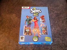 The Sims 2 Base Game & Pets Expansion Limited Edition Double Pack for PC Windows