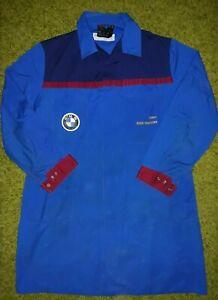 BMW Team Motoren Workwear Long Jacket Coverall Blue IEV