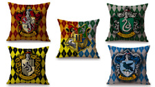 Harry Potter Cushion Cover / Pillow Case - Hogwarts, Gryffindor, Slytherin