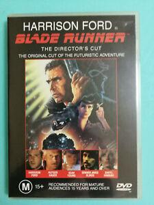 Blade Runner DVD Harrison Ford Directors Cut MA15 + R4 VGC Amercian Cult Classic