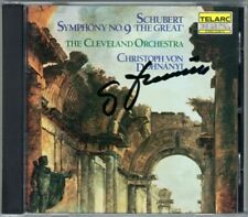 Christoph von DOHNANYI Signiert SCHUBERT Symphony No.9 Great Cleveland TELARC CD