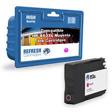 compatible (NO ORIGINAL) f6u17ae Magenta Cartuchos de tinta para HP Impresoras