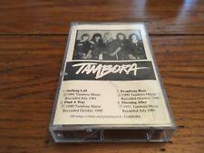 TAMBORA 1991  DEMO CASSETTE INDIE HAIR METAL AOR