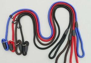 Hot sale Rope Dog whisperer  Millan style Slip Training leash lead  collar