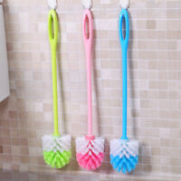3pcs Durable Toilet Brush Mop Scrubber with Handle Set for Bathroom Cleaning