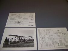 VINTAGE..1903 WRIGHT FLYER , MODEL A/B,.3-VIEWS/STRUCTURE....RARE! (280B)