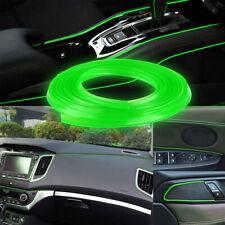 Green 5M Car Interior Door Crack Edge Line Insert Molding Trim Strip Decor