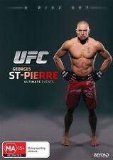 UFC - Georges St Pierre - Ultimate Events (DVD, 2015, 8-Disc Set