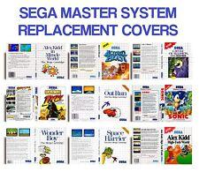 Retro Sega Master System Jeu de remplacement de cas couvre