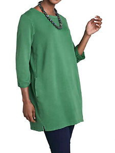EX SEASALT Green Stone Carving Tunic in Sizes 12, 14, 16, 18, 20 RRP £59.95