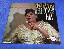 ELLA FITZGERALD (LP) CLAP HANDS! HERE COMES ELLA [VERVE STEREO 1963 **RAR] EX
