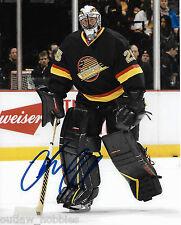 Vancouver Canucks Jacob Markstrom Signed Autographed 8x10 NHL Photo COA C
