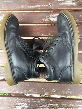 Dr Doc Martens Men's Harrisfield Ankle Boots Leather Black Lace US Size 11M EU45
