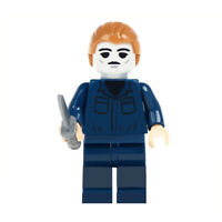 Michael Myers - Serial Killer Horror Movie Lego Minifigure, New Inspired Design