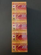 Kodachrome 200 135-36 - 35MM - 200 ASA Pack of 5 (1 of 6 Packs Left)