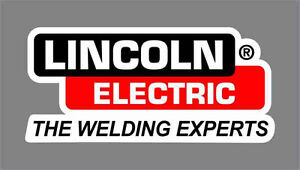"5"" Lincoln Electric Welder Decal Sticker Car Truck Window Bumper USA tool box"