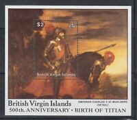 Virgin Island  1988 Emperor Charles V  Sc 603 mint never hinged