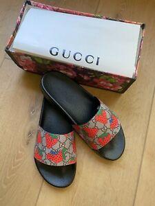 Gucci Strawberry Slides Size 43