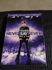 DVD Justin Bieber Never Say Never Director's Fan Cut Ultimate  Collector's Ed
