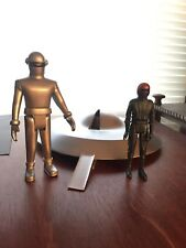 The day the earth stood still spaceship plus gort and klaatu figures.