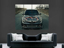 SUBARU IMPREZA CAR ENGINE  WALL POSTER  PICTURE PRINT LARGE HUGE