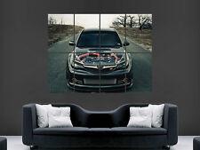 SUBARU IMPREZA CAR ENGINE  WALL POSTER  PICTURE PRINT LARGE HUGE