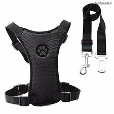 Adjustable Safety Restraint Lead Pet DogS Cat Puppy Seat Belt Car Collar Harness