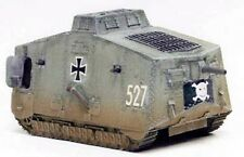 Milicast WWI-2 1/76 Resin WWI German Tank A7V  (5 Plated Type with Decals)