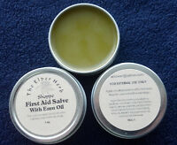 The Elder Herb Shoppe First Aid Drawing Salve w/ Pure Emu Oil 1 oz. tin
