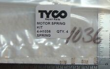 4 MOTOR SPRINGS, KIT FOR TYCO TRAINS MADE IN HONG KONG