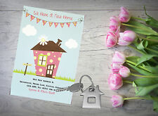 10 Personalised handmade Change of Address New Home House Moving Cards AC29