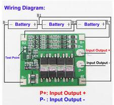 1X 3S 11.1V 12.6V 25A 18650 Li-ion Lithium Battery PCB Protection Board Best EV