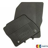 NEW GENUINE FORD FOCUS 11-15 FRONT BLACK RUBBER FLOOR MATS RHD 2027598
