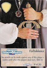 Spellfire - Artifacts Chase #11 - ARc/11 - Forbiddance - D&D
