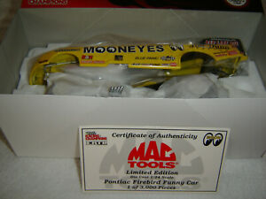 2001 MAC TOOLS 1/24 AL HOFFMANN MOONEYES PONTIAC FIREBIRD NHRA FUNNY CAR NEW