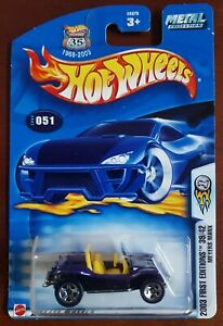 Hot Wheels Meyers Manx 1:64 2003 First Editions