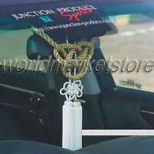 NEW VIP CHARM JUNCTION PRODUCE CAR FUSA WHITE KIKU JP KNOT & GOLD KIN TSUNA ROPE