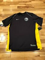 Nike Golden State Warriors Anthracite Dri-Fit Shooting Shirt 918154 014 XXL