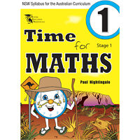 Time for Maths Stage 1 - NSW syllabus and Australian curriculum guidelines.